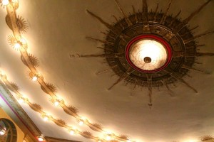 Cincinnati Club ceiling. (copyright April Doner 2013)