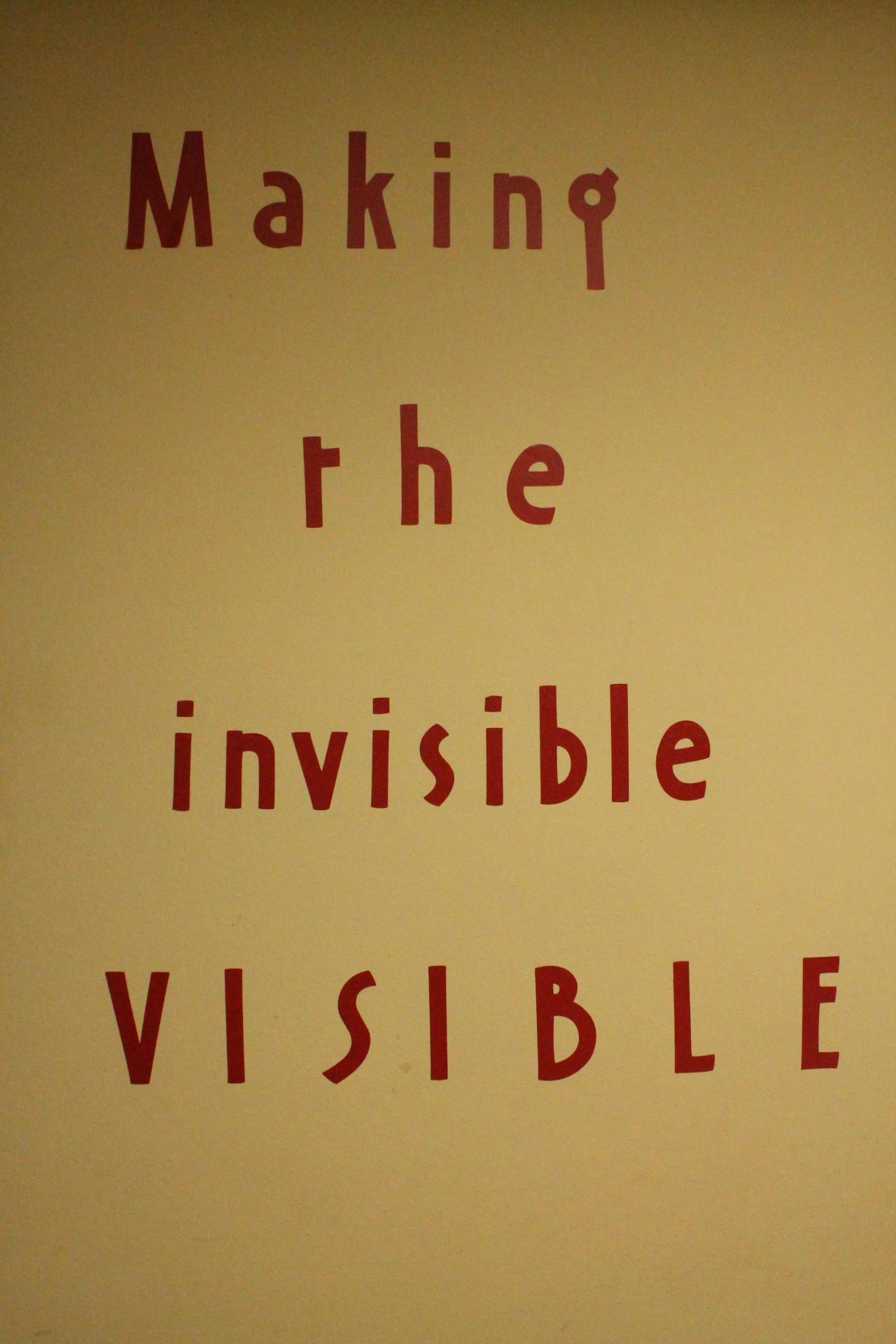 MakingInvisibleVisible